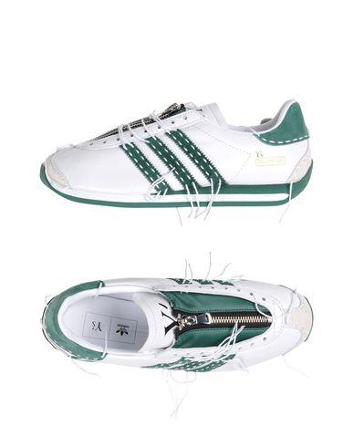 ADIDAS x YOHJI YAMAMOTO Низкие кеды и кроссовки raf simons x adidas низкие кеды и кроссовки