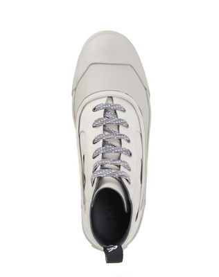 LANVIN VULCANIZED CALFSKIN MID-TOP SNEAKER Sneakers U r
