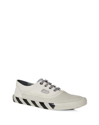 LANVIN VULCANIZED CALFSKIN SNEAKER Sneakers U f