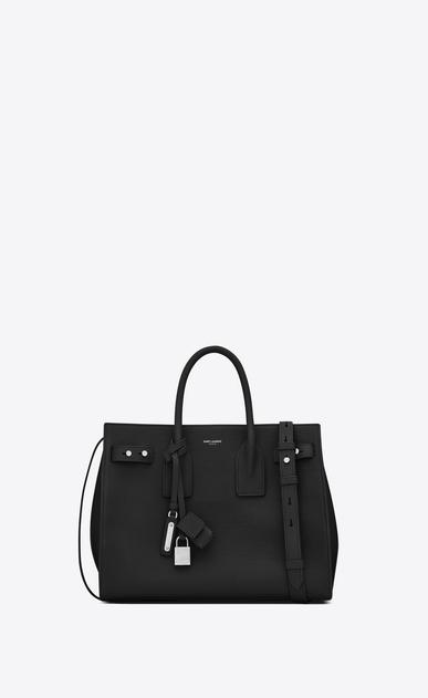 SAINT LAURENT Sac De Jour Supple D small sac de jour souple bag in black grained leather v4