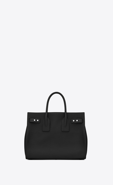 SAINT LAURENT Sac De Jour Supple Woman small sac de jour souple bag in black grained leather b_V4