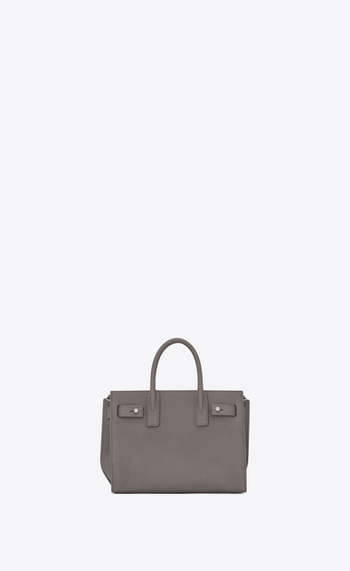 SAINT LAURENT Sac De Jour Supple D nano sac de jour souple bag in fog grained leather b_V4