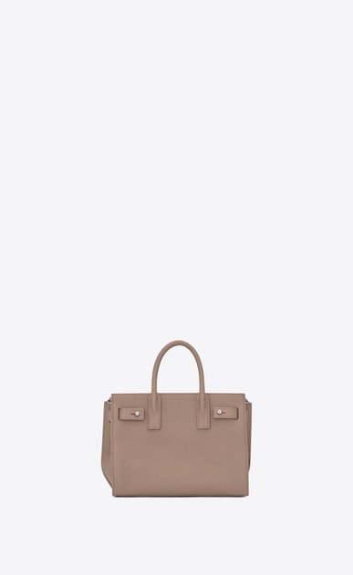 SAINT LAURENT Sac De Jour Supple D nano sac de jour souple bag in rose grained leather b_V4