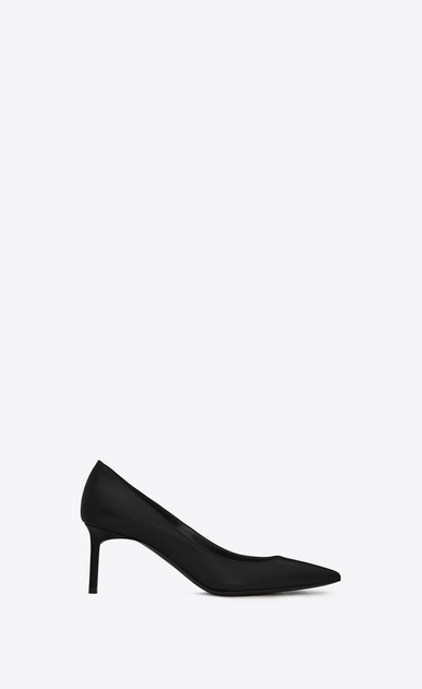 SAINT LAURENT Anja D Anja 65 escarpin pump in black leather a_V4