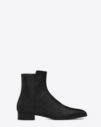 SAINT LAURENT Boots U ELI 25 Zip Boot in Black f