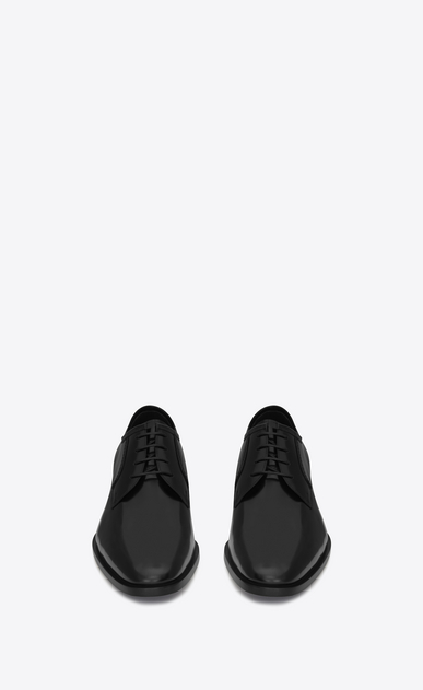 SAINT LAURENT Classic Shoes U MONTAIGNE 25 Derby Shoe in Black leather b_V4