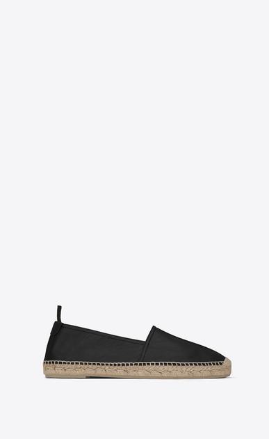 SAINT LAURENT Casual Shoes U MONOGRAM ESPADRILLE in Black leather v4