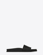 SAINT LAURENT Casual Shoes U jimmy 20 sandal in black leather f