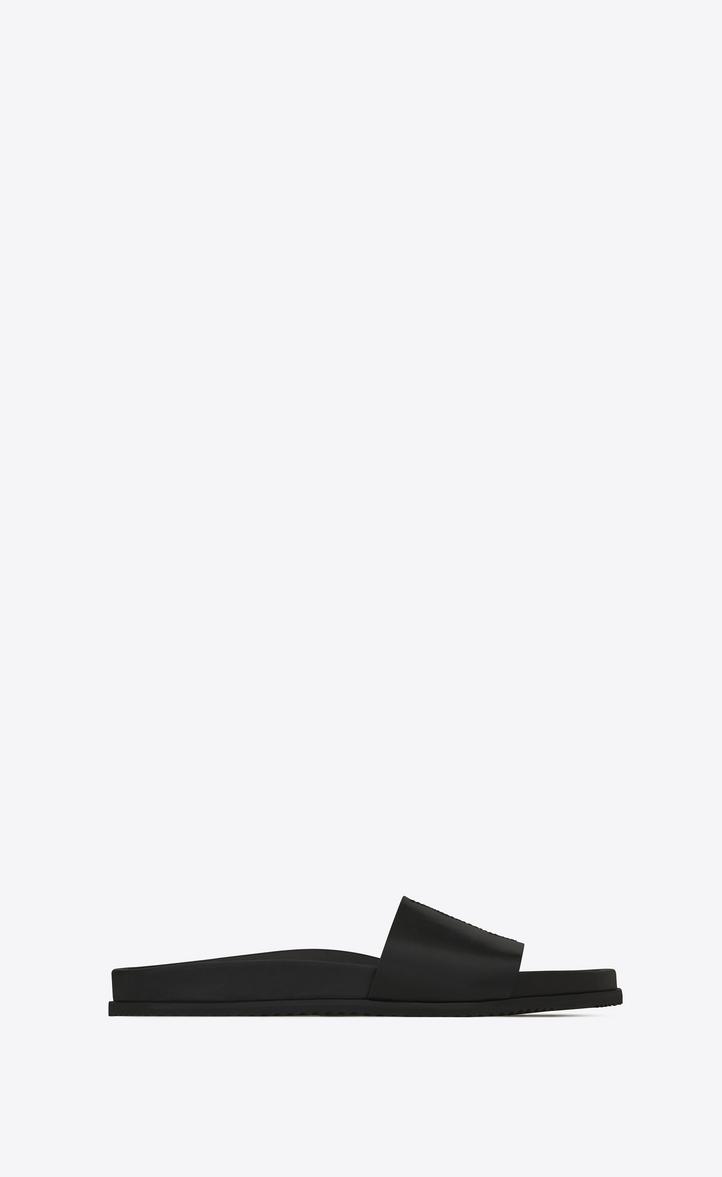 Sandals for Men On Sale, Black, Leather, 2017, 10.5 5.5 6 6.5 6.75 7 7.5 8 8.5 9 9.5 Saint Laurent