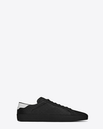 SAINT LAURENT SL/06 U Signature COURT CLASSIC SL/06 Sneaker in Black and White perforated leather f