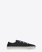 SAINT LAURENT Low Top Sneakers U flascher Rivington Sneaker in Schwarz f