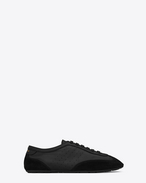 SAINT LAURENT Low Top Sneakers U flacher LOU Sneaker in Schwarz f