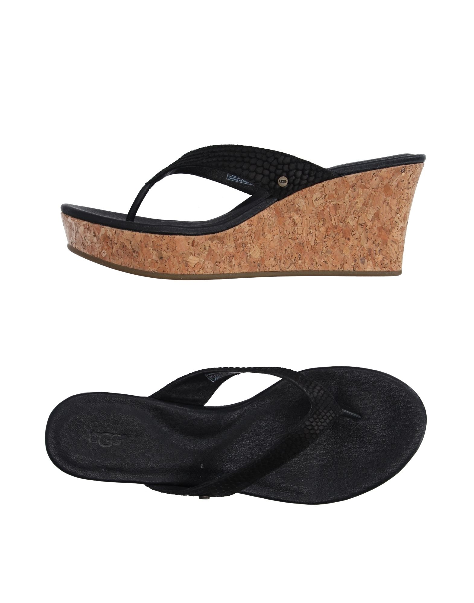UGG AUSTRALIA Вьетнамки обувь для дома ugg australia allaria ii scale embossed
