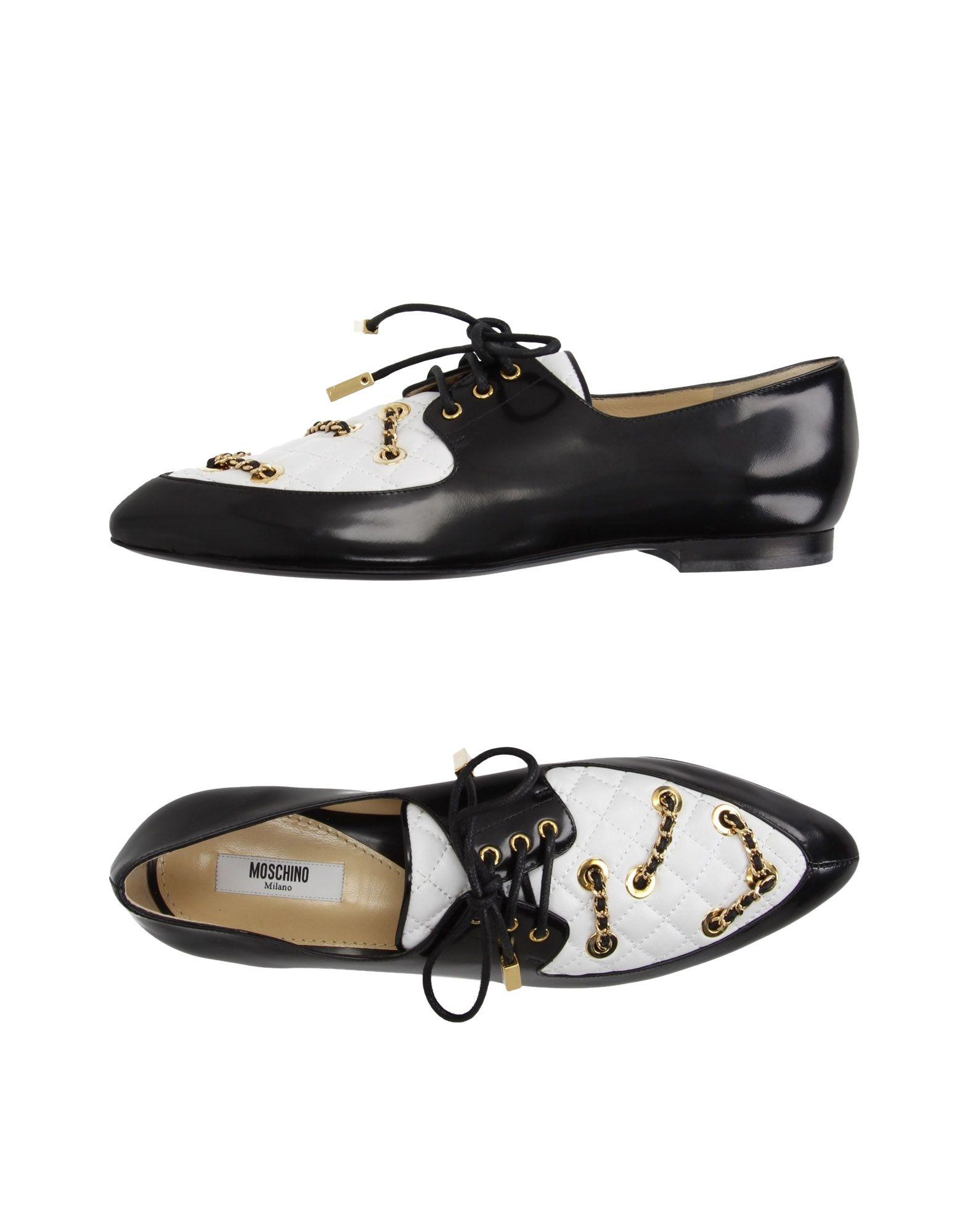 MOSCHINO COUTURE Обувь на шнурках цены онлайн