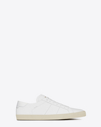 SAINT LAURENT Sneakers D sneakers court classic sl/06 bianco ottico in pelle f