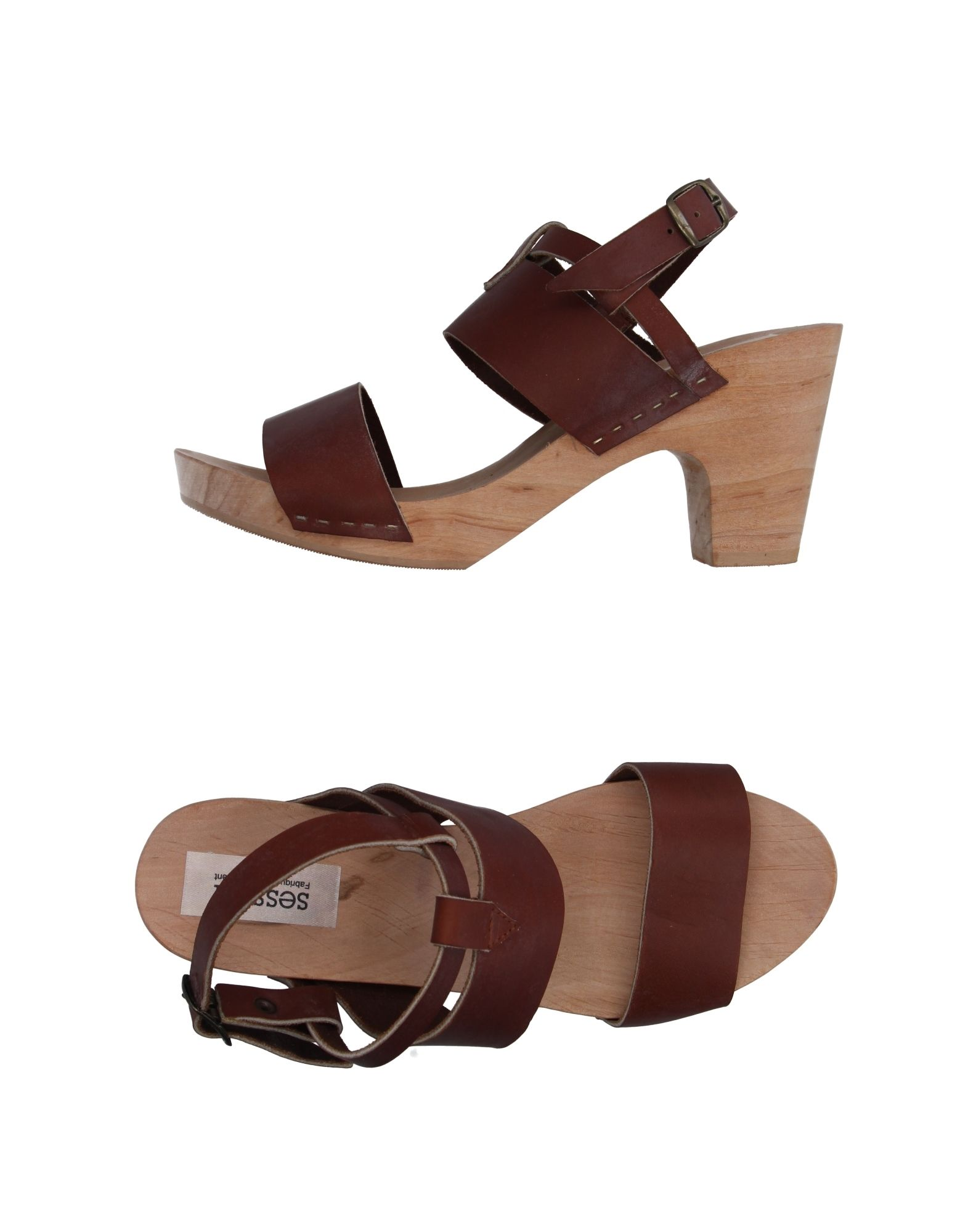 SESSUN Sandals in Brown