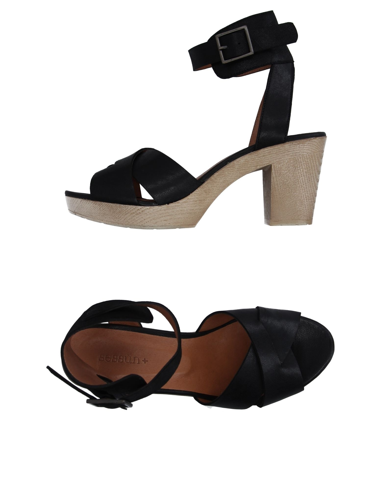 SESSUN Sandals in Black