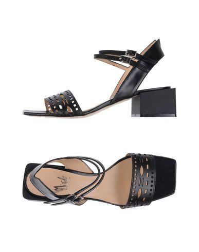 Фото - Женские сандали MIVIDA черного цвета