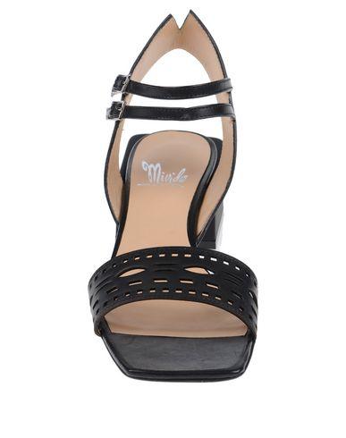 Фото 2 - Женские сандали MIVIDA черного цвета