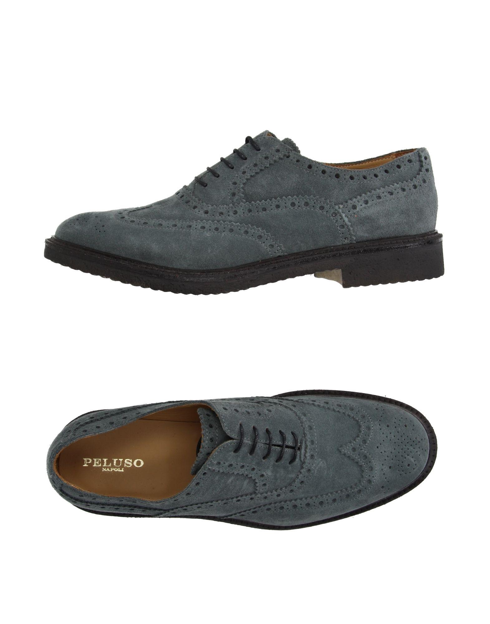 PELUSO NAPOLI Обувь на шнурках цены онлайн