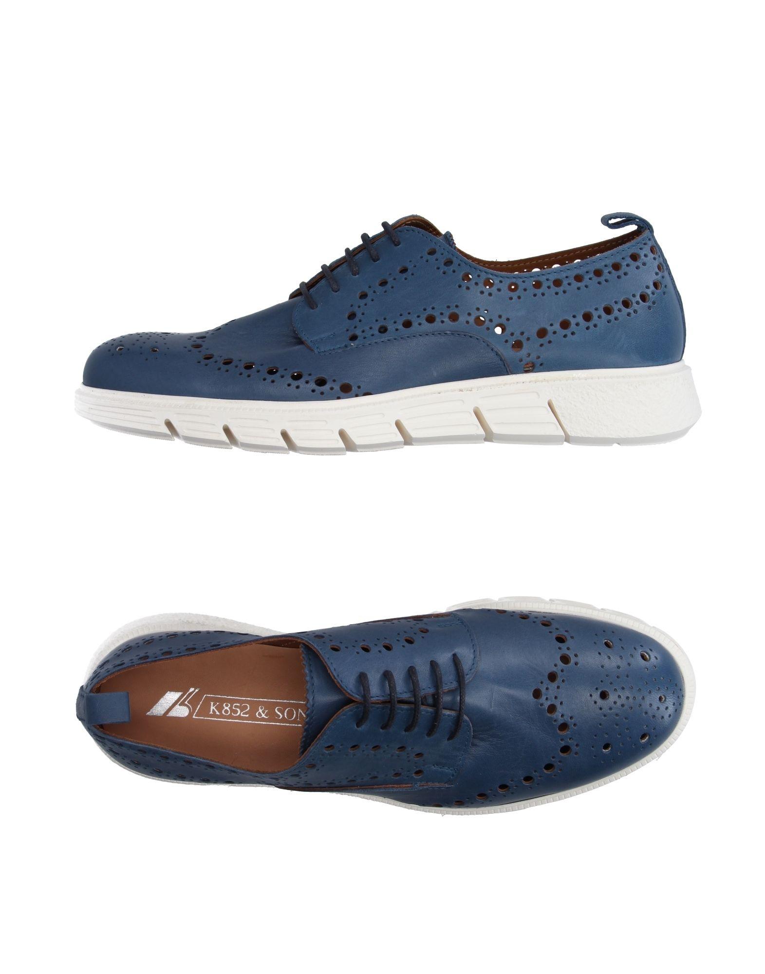K852 & SON Обувь на шнурках цены онлайн