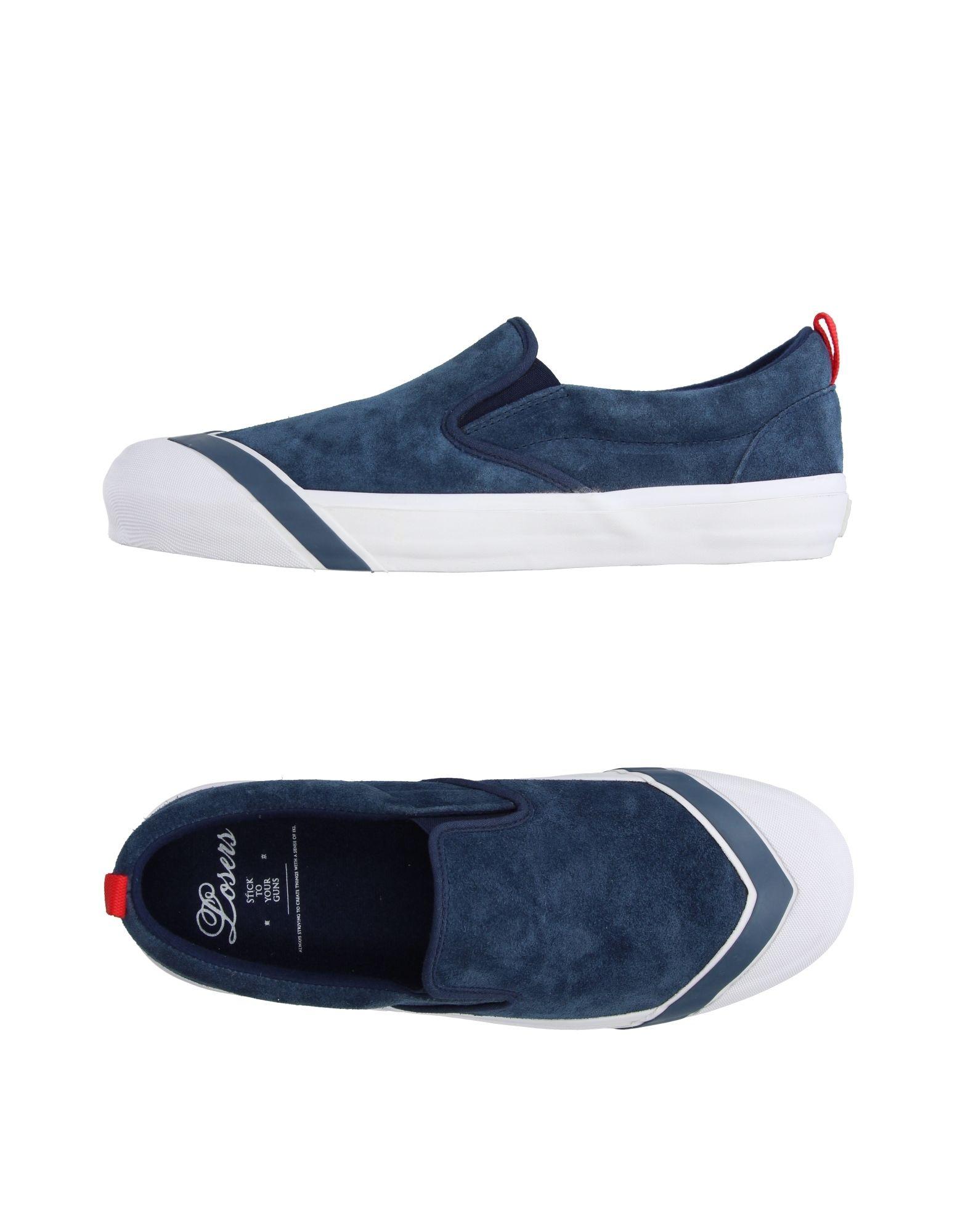 LOSERS Sneakers in Slate Blue