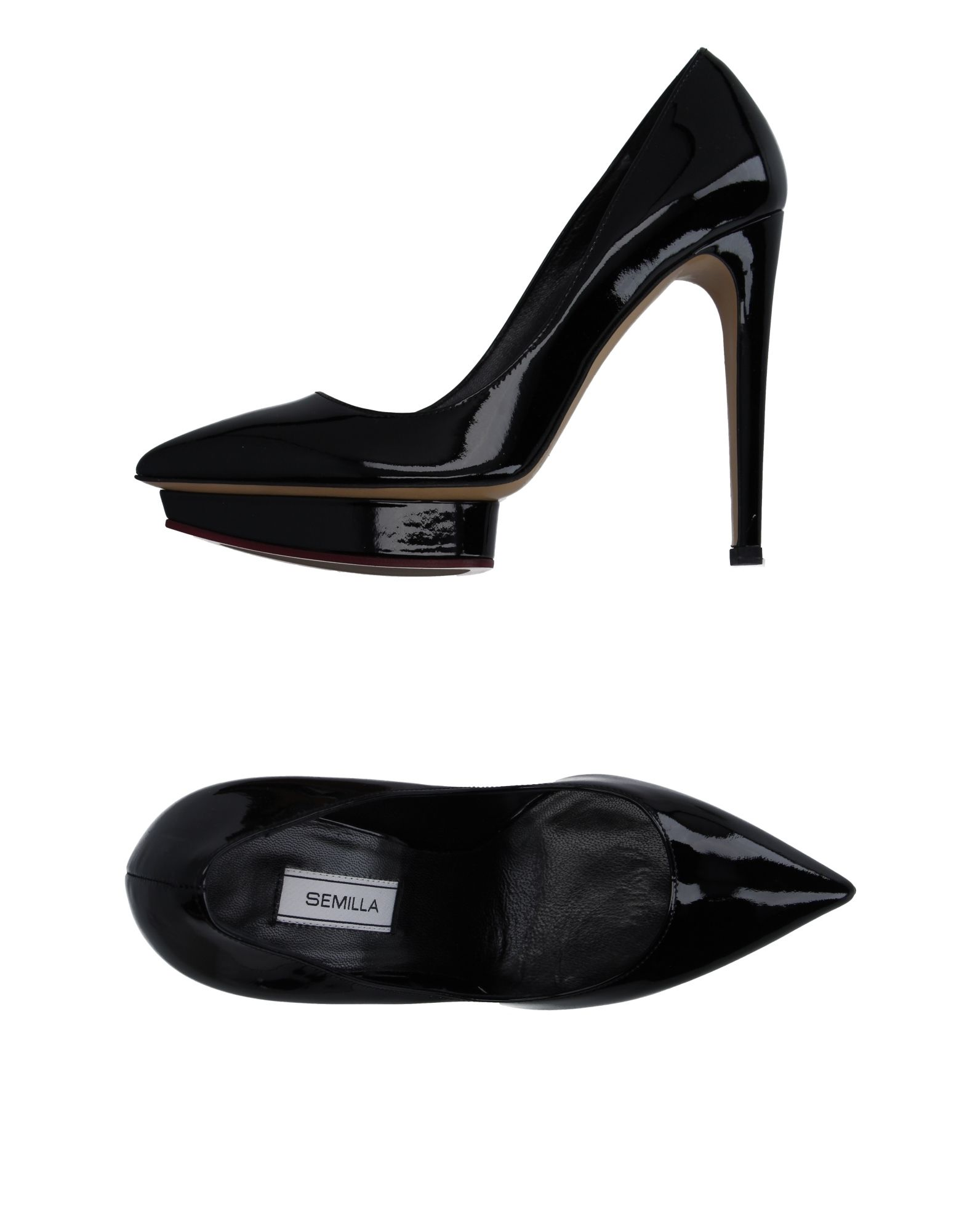 SEMILLA Pump in Black