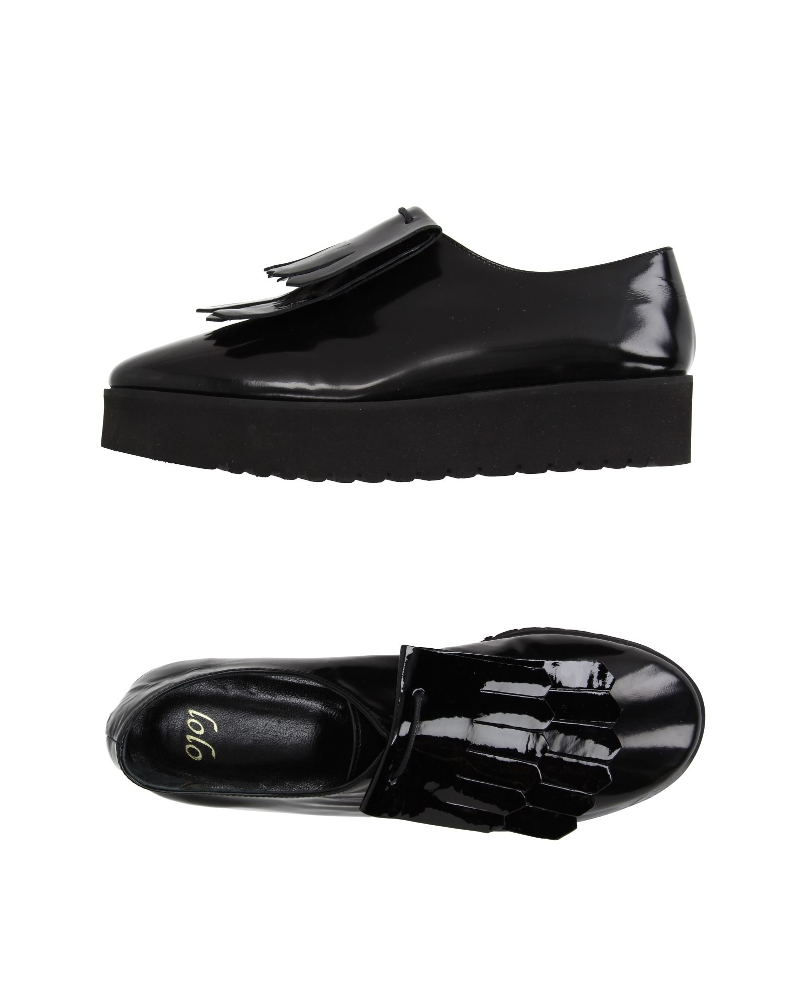 LOLO Laced Shoes in Black