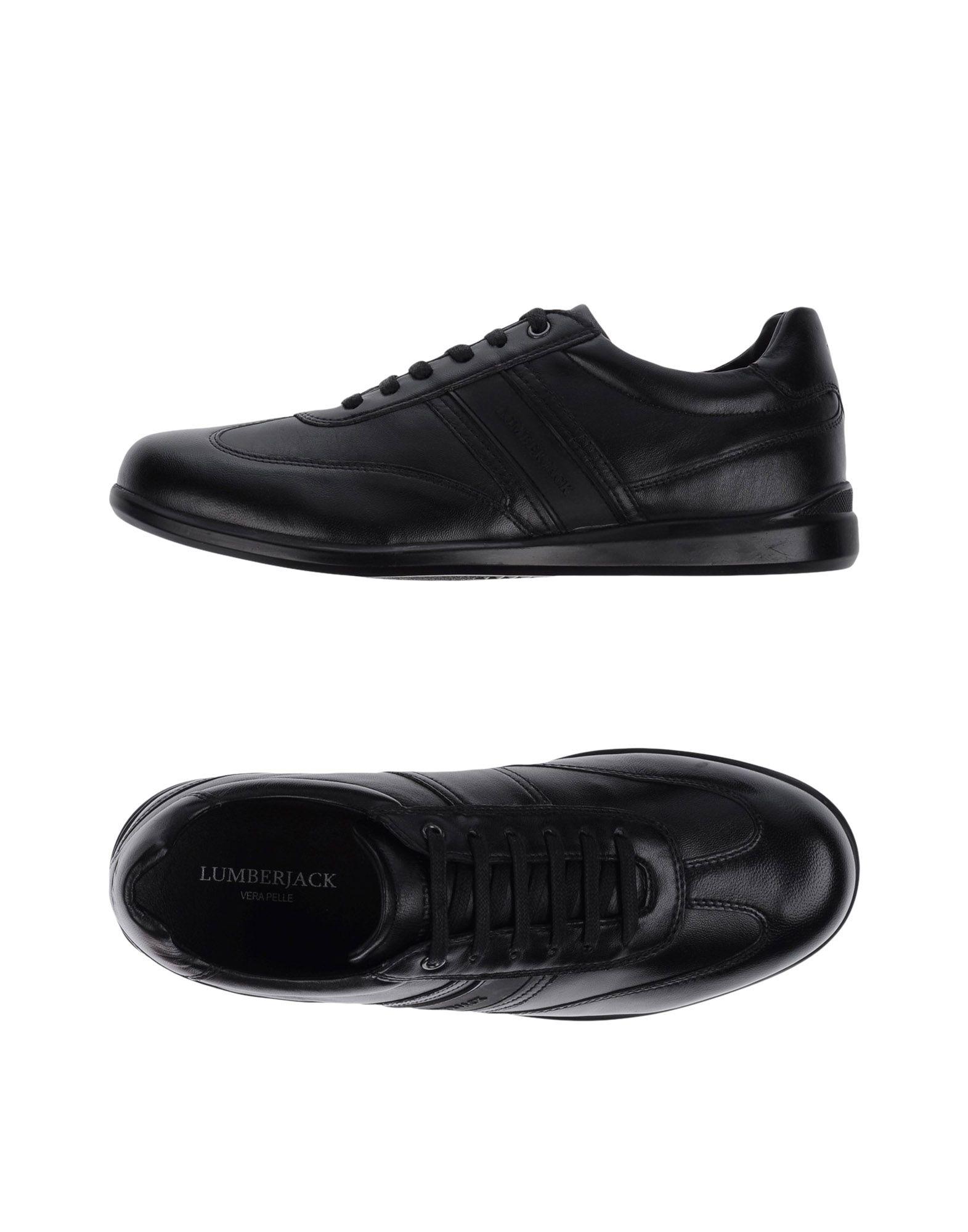 LUMBERJACK Herren Low Sneakers & Tennisschuhe Farbe Schwarz Größe 5 jetztbilligerkaufen
