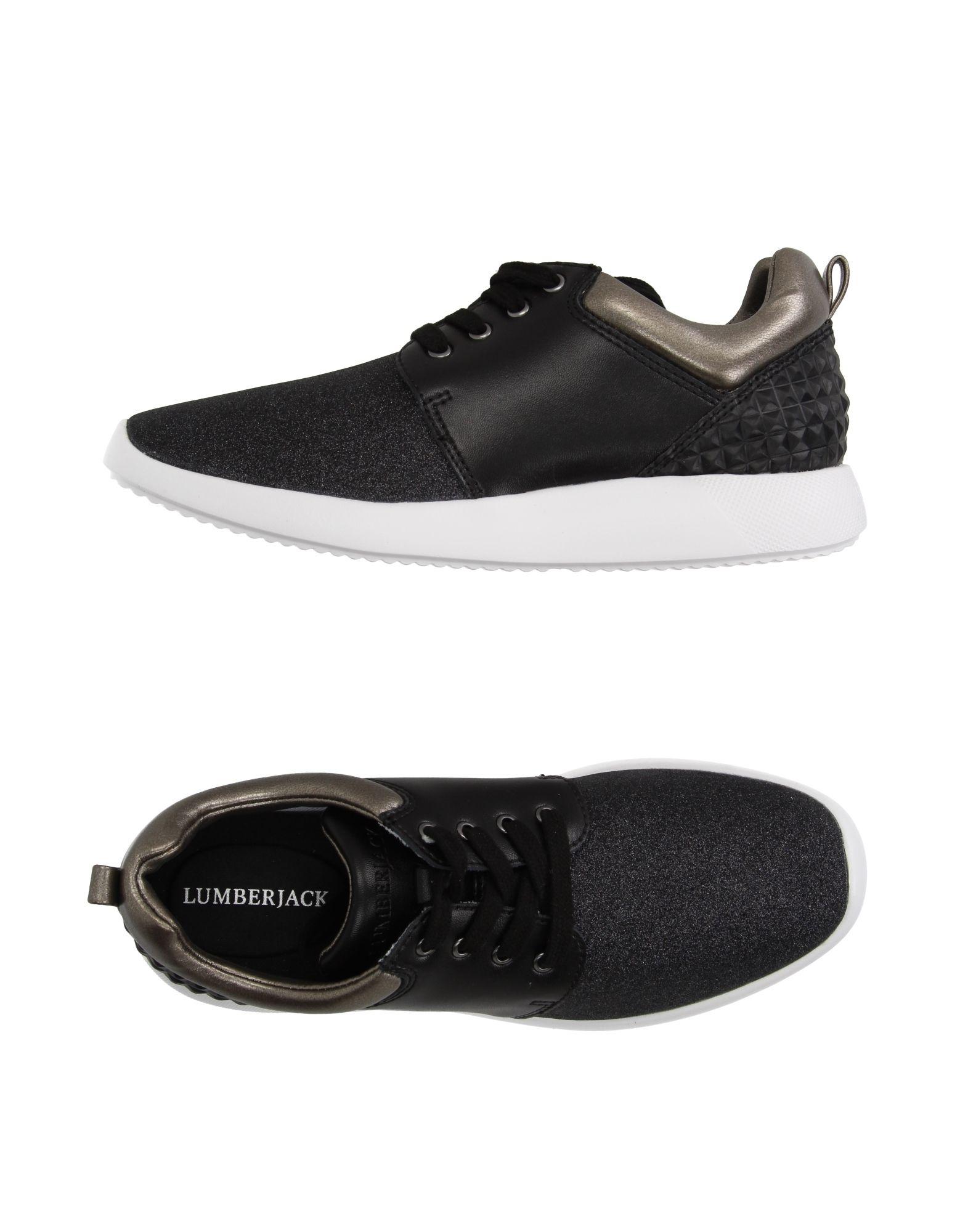 LUMBERJACK Damen Low Sneakers & Tennisschuhe Farbe Schwarz Größe 9 jetztbilligerkaufen
