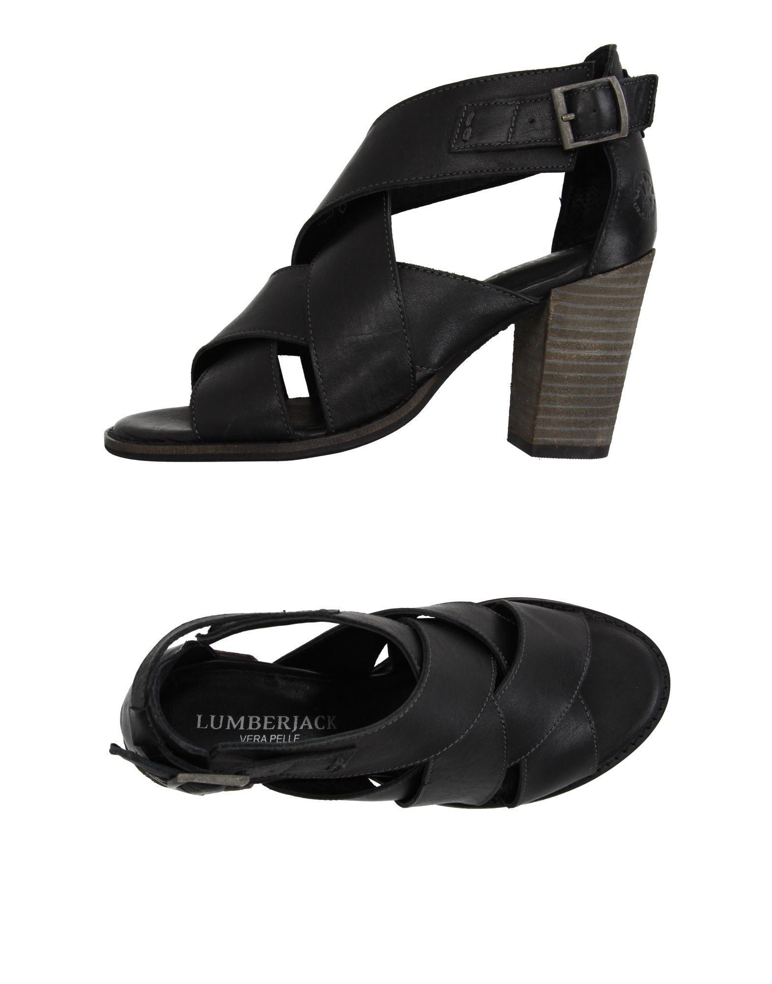 LUMBERJACK Damen Sandale Farbe Schwarz Größe 3 jetztbilligerkaufen