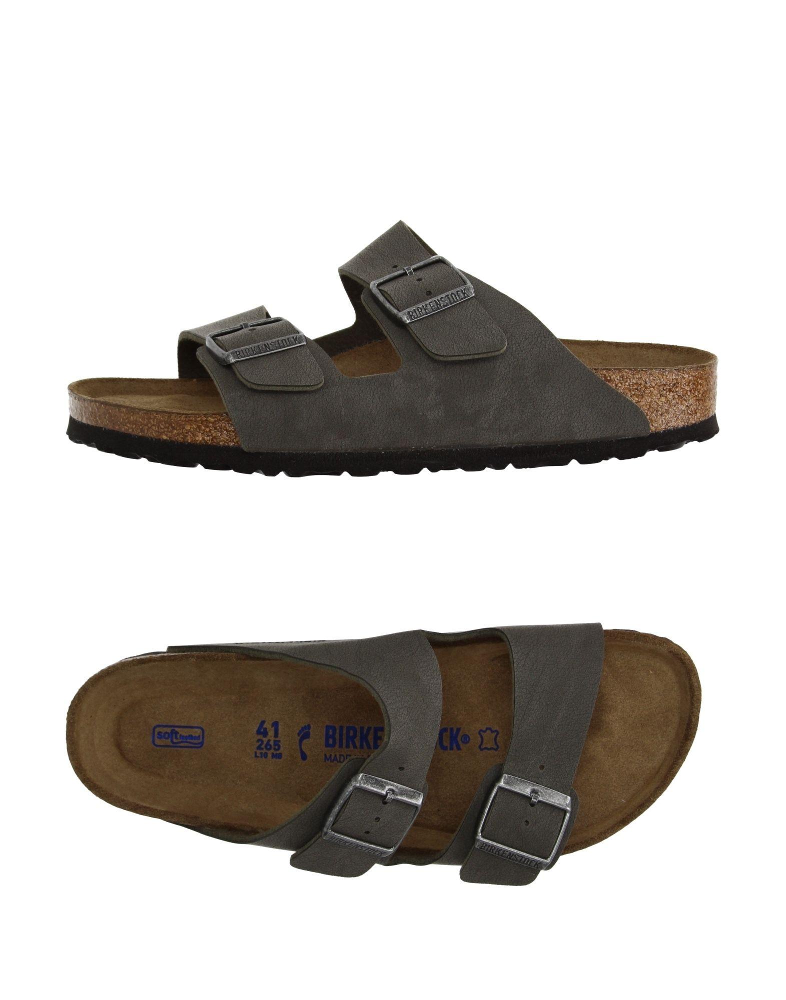 BIRKENSTOCK Herren Sandale Farbe Grau Größe 7 jetztbilligerkaufen