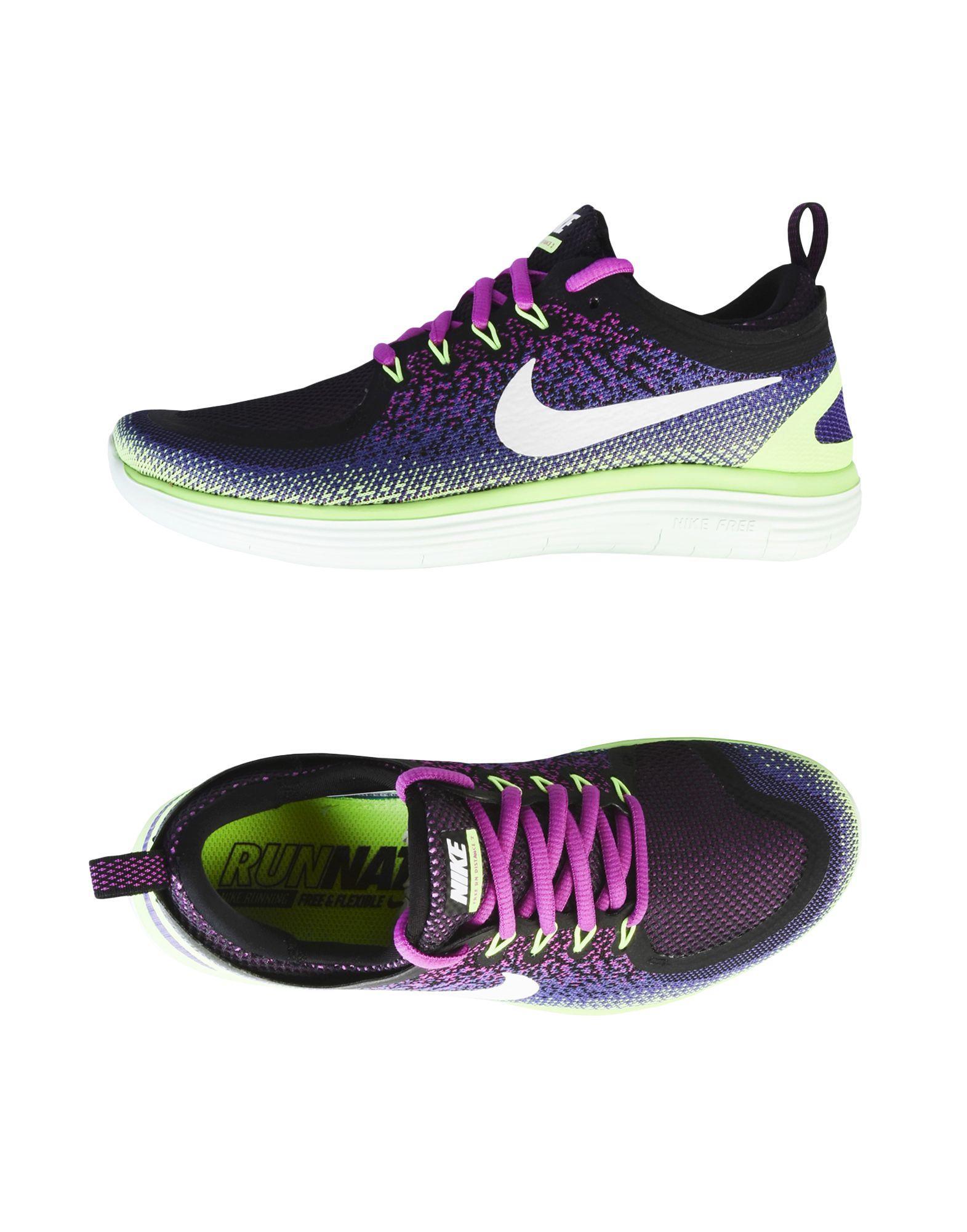 NIKE Damen Low Sneakers & Tennisschuhe Farbe Dunkelviolett Größe 9 jetztbilligerkaufen