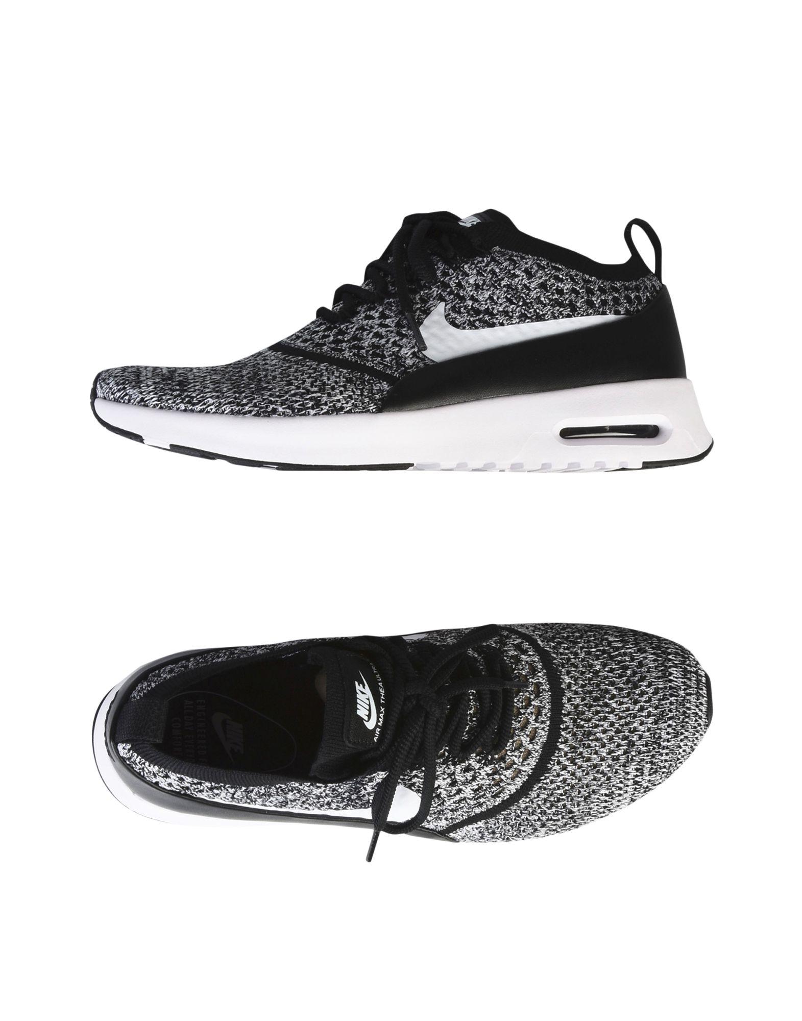 NIKE Damen Low Sneakers & Tennisschuhe Farbe Schwarz Größe 9 jetztbilligerkaufen