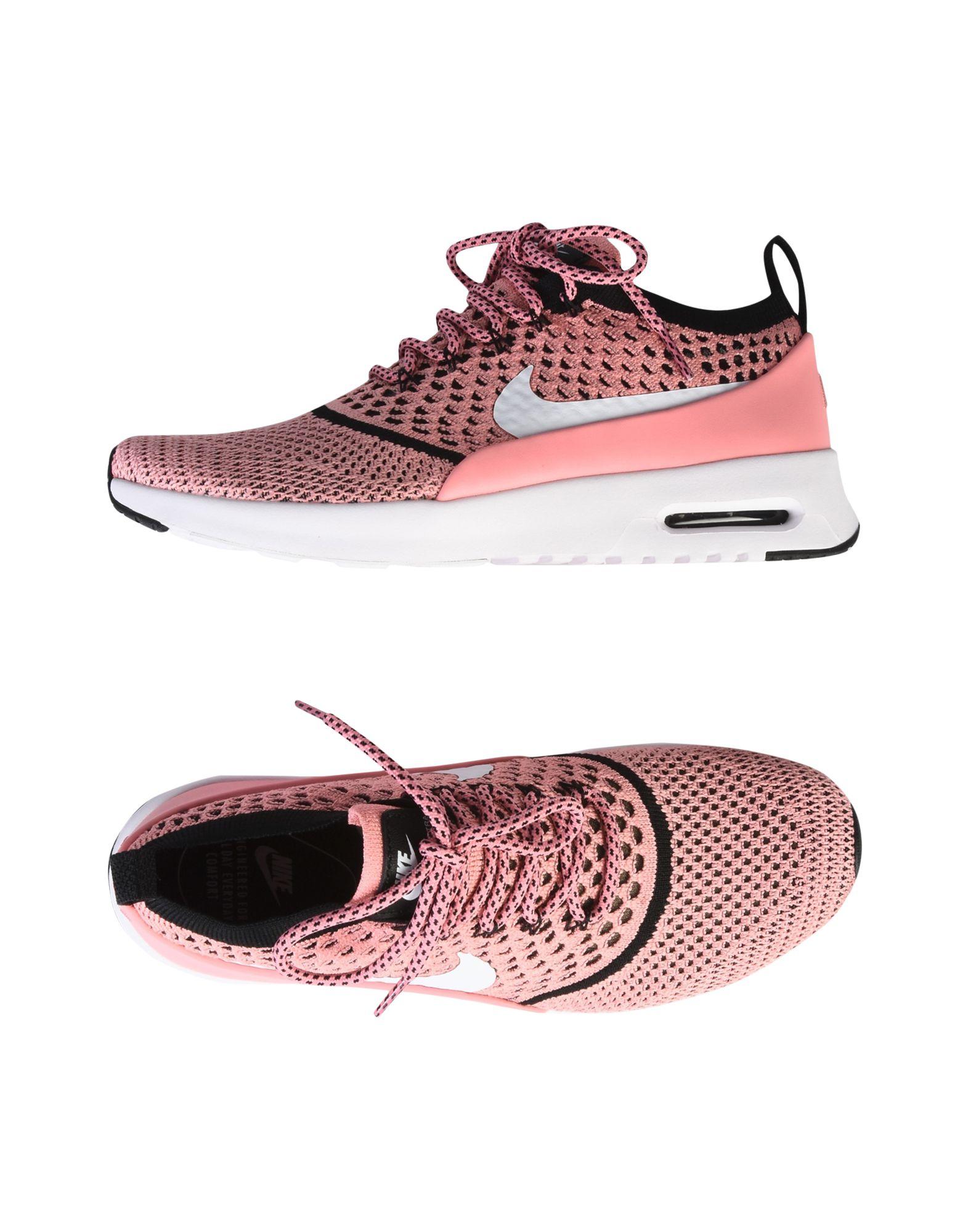 NIKE Damen Low Sneakers & Tennisschuhe Farbe Rosa Größe 4 jetztbilligerkaufen