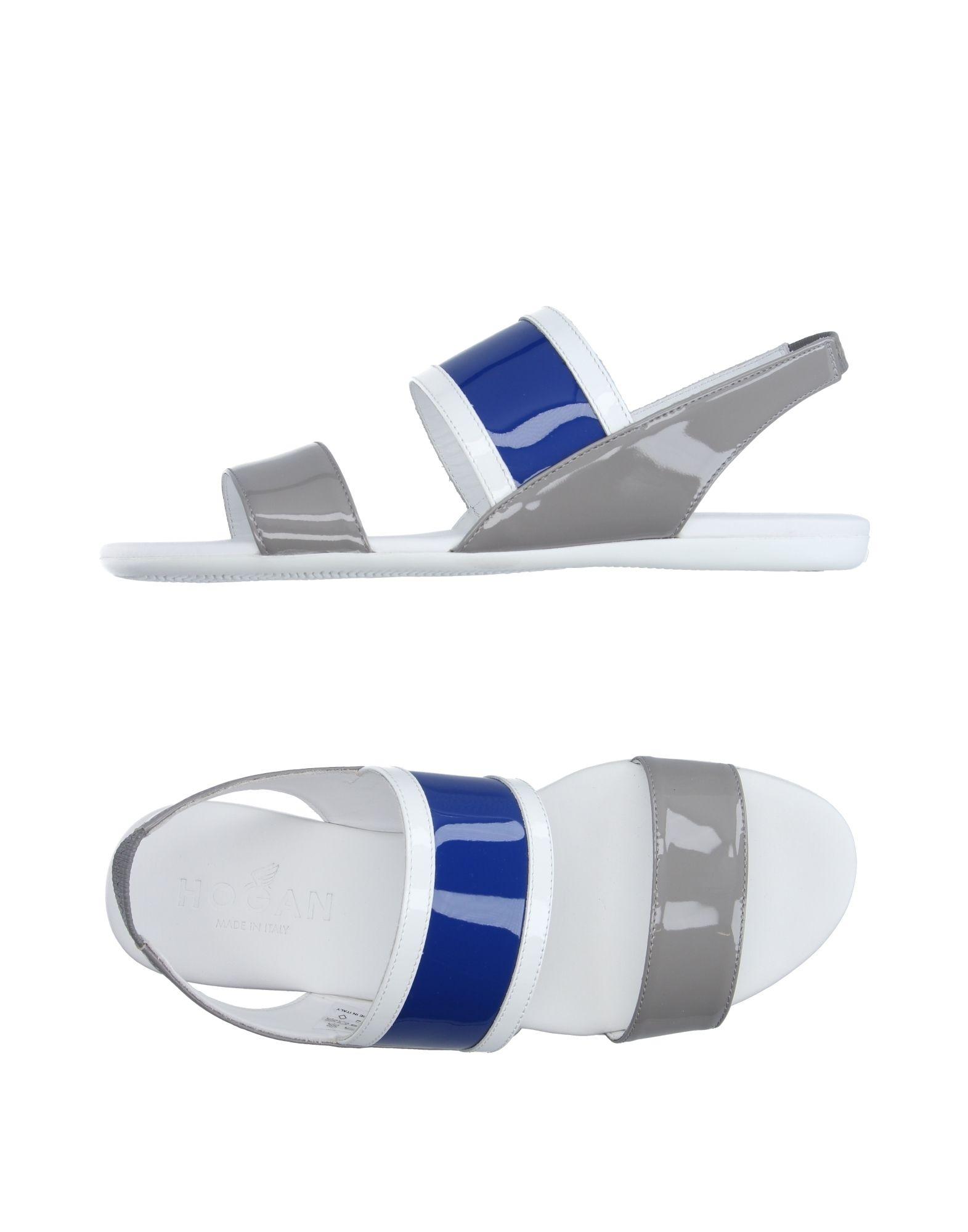 HOGAN Damen Sandale Farbe Grau Größe 6 jetztbilligerkaufen