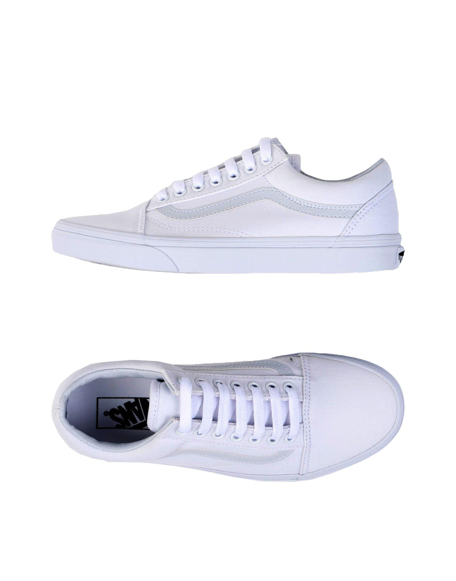 VANS Damen Low Sneakers & Tennisschuhe Farbe Weiß Größe 7 jetztbilligerkaufen