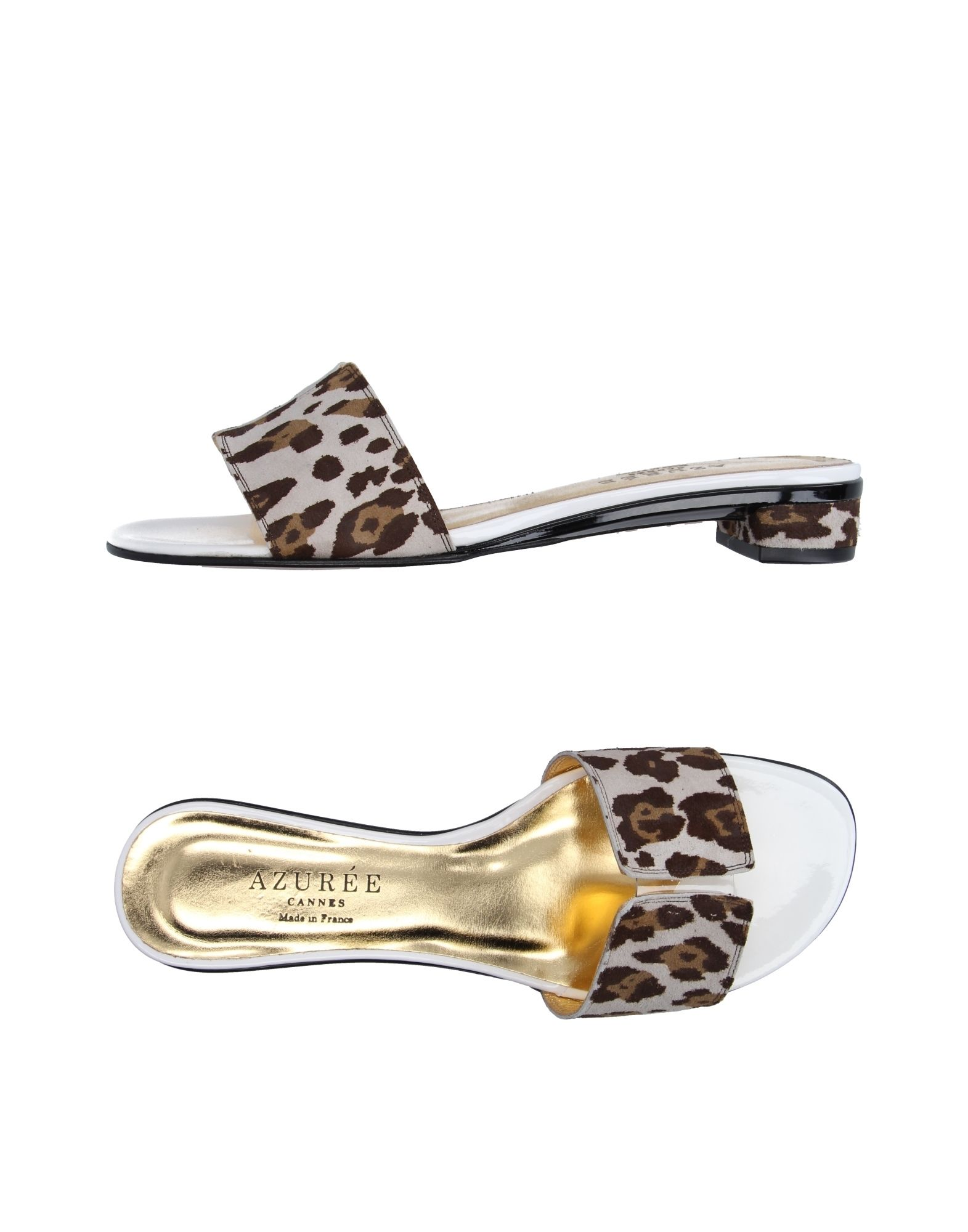 AZURÉE CANNES Damen Sandale Farbe Hellgrau Größe 7 jetztbilligerkaufen
