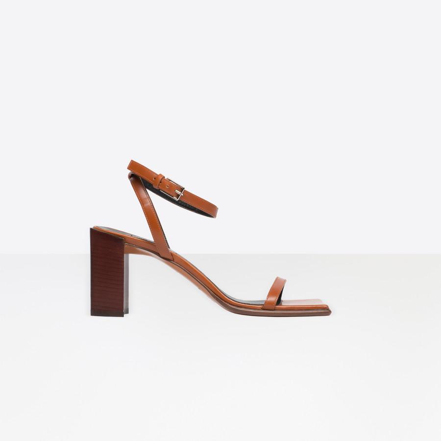 BALENCIAGA Square Sandal Square shoes D f