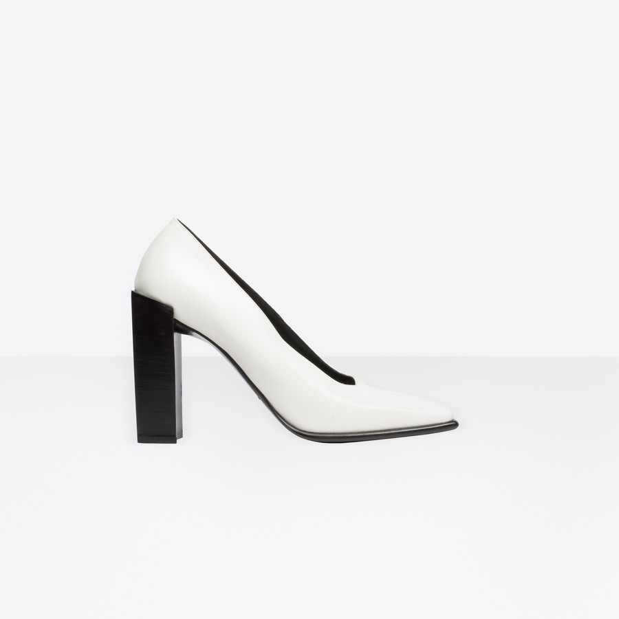 BALENCIAGA Square Pumps Square shoes D f