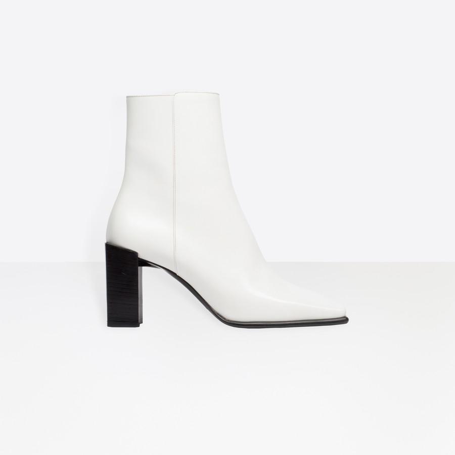 BALENCIAGA Square Bootie Square shoes Woman f