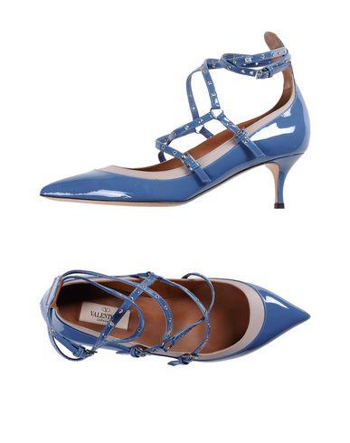 Фото - Женские туфли  грифельно-синего цвета