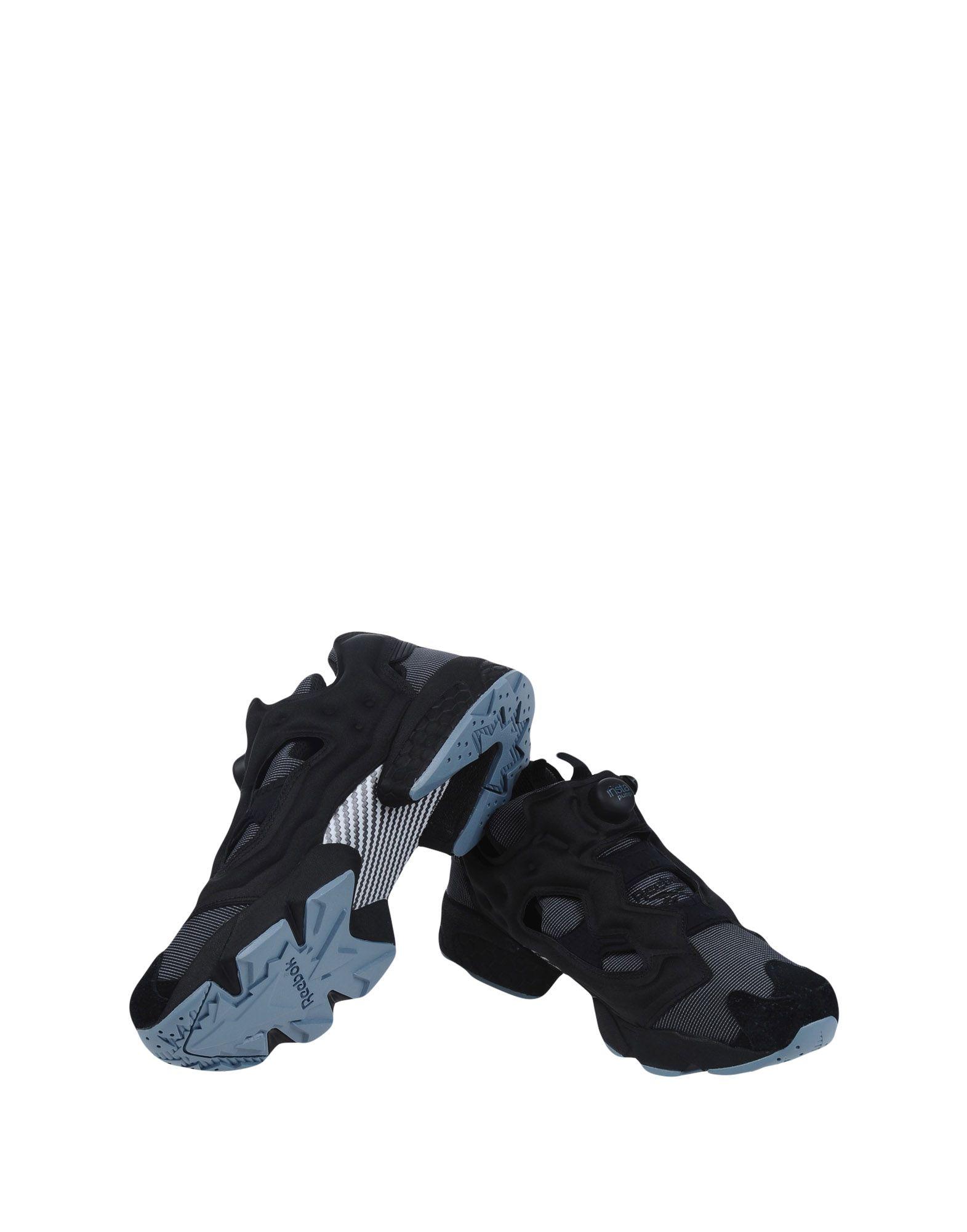 《送料無料》REEBOK メンズ スニーカー&テニスシューズ(ローカット) ブラック 10.5 紡績繊維 INSTAPUMP FURY MTP
