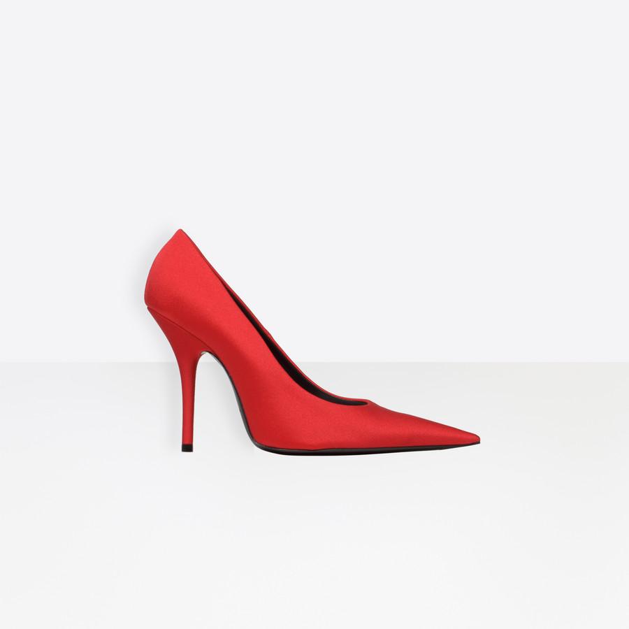 BALENCIAGA Knife Pumps Knife Shoes Woman f