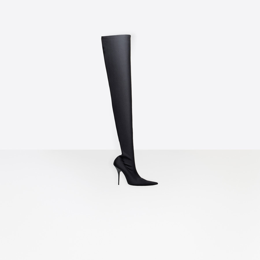 BALENCIAGA Knife Over-the-knee Boots Looks Shoes Woman f