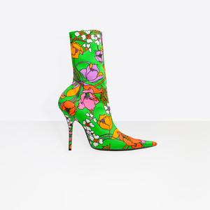 BALENCIAGA Looks Shoes Woman Knife Bootie f