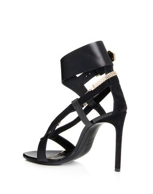 SANDAL WITH CHAIN STRAP