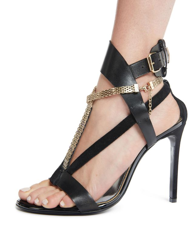 LANVIN SANDAL WITH CHAIN STRAP Sandals D d