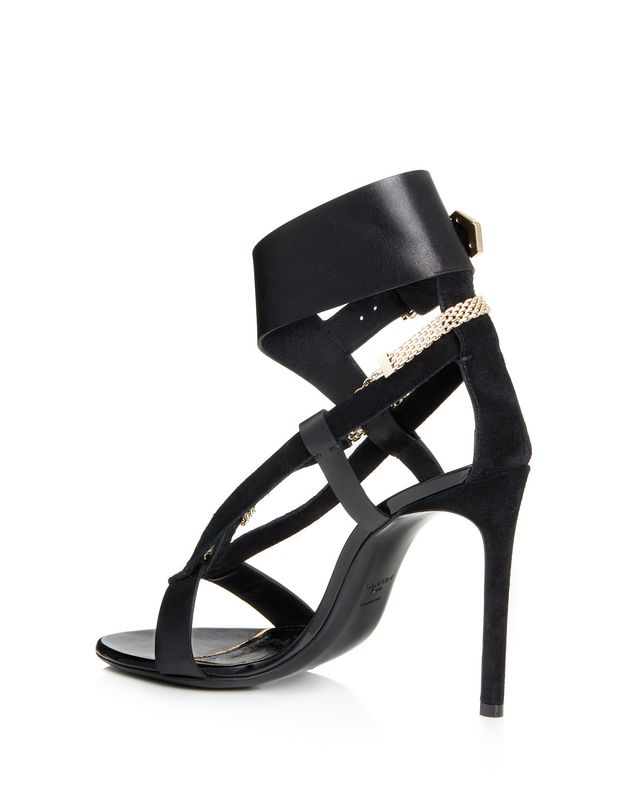 LANVIN SANDAL WITH CHAIN STRAP Sandals D r