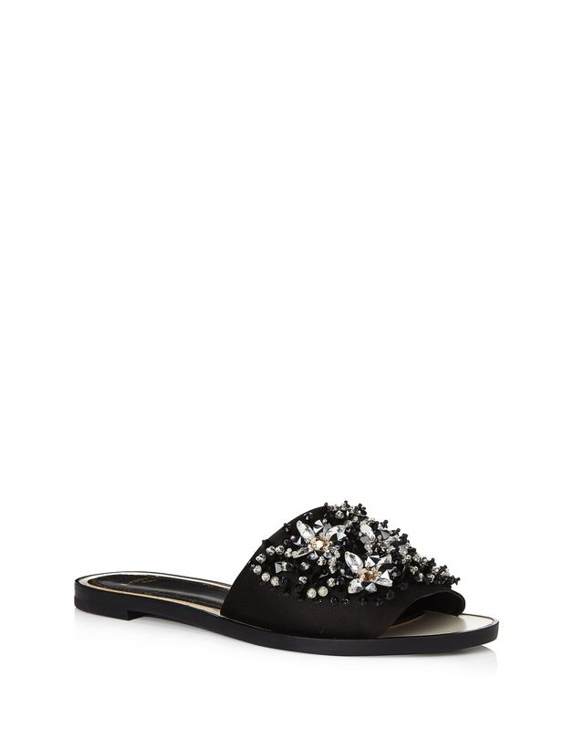 LANVIN EMBROIDERED MULE Sandals D f